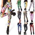 Hot! Sexy! Digital 3D Printed All-Match Leggings Summer Style Harajuku  Elastic Leggins Finess Women Creative Slim Pants