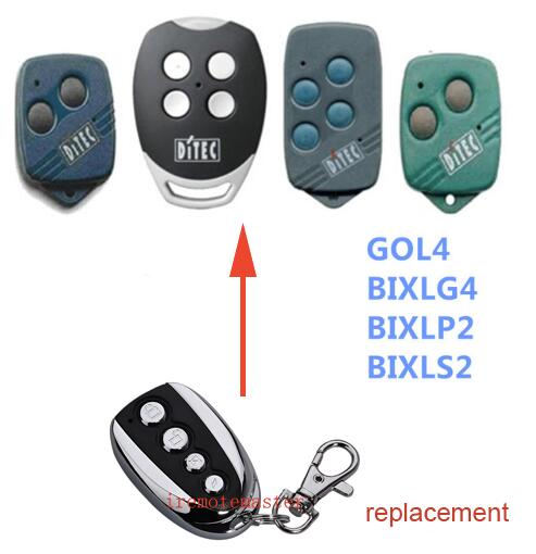 DITEC garage door opener replacement remote control Rolling code 433mhz DHL free shipping faac replacement remote control rfac4 dhl free shipping
