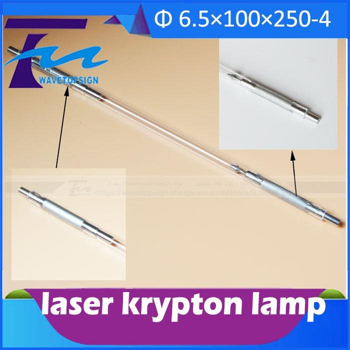 free shipping laser  marking machine laser krypton lamp K6.5-100-250-4 diameter 6.5mm length 250mm james robinson superman new krypton vol 4