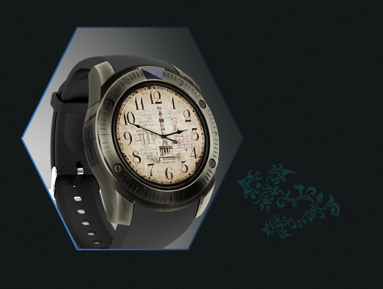 Camera Vintage Android : Ky vintage smart watch with camera bluetooth wristwatch for
