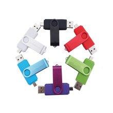 2017 gadgets business use Rotate OTG usb 3.0 usb flash drive for smart phone 16GB 32G pendrive usb stick
