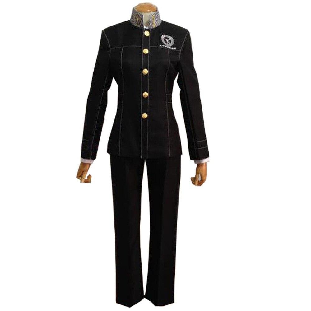 2017 Shin Megami Tensei Persona 4 P4 Cosplay School Boy Uniform Kostuum Yu Narukami Jasje Goedkoopste Prijs Van Onze Site