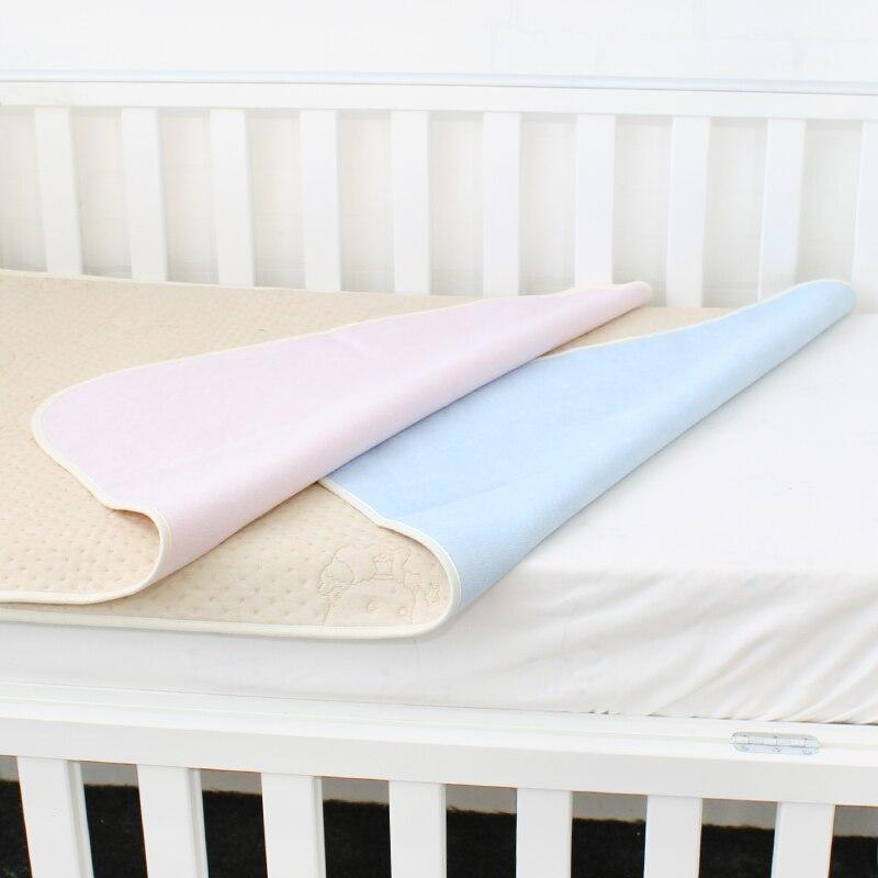 Baby Windeln Ändern Matte Für Neugeborene Weiche Waschbar Ändern Pad Für Infant Wasserdichte Windel Wechsler Krippe Blatt Größe 100 x70cm