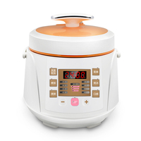 DMWD 2L Small Electric Pressure Cooker 220V Intelligent Soup Pot Cake Maker 24H Appointment 8 Menu For 1 2 People