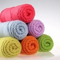 Natural Soft Silk Milk Cotton Yarn 10pcs 1000g Thick Yarn For Knitting Lover Scarves Knitting crochet yarn weave thread