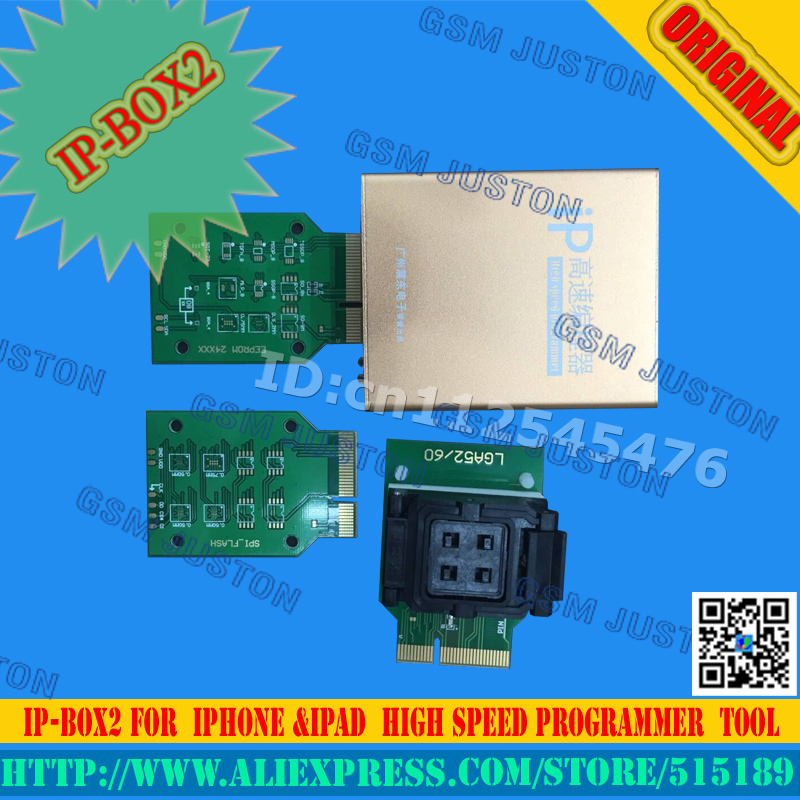Ip high speed programmer box IP box2 for for Iphone Ipad free shipping
