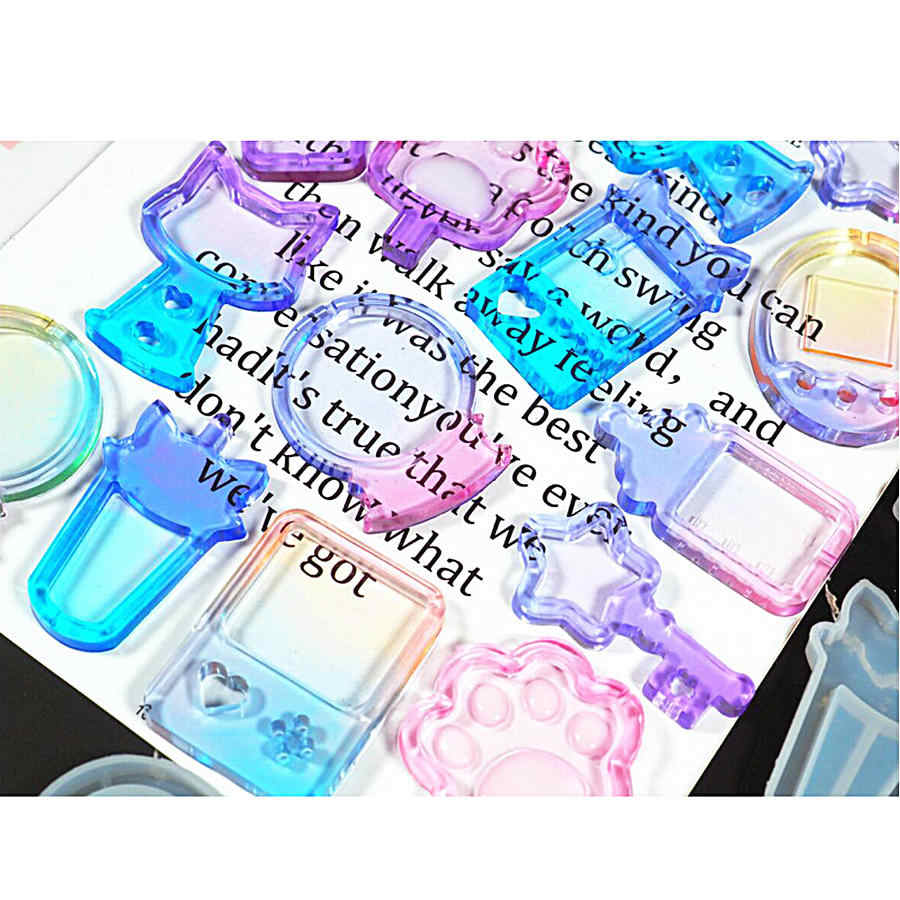 מסטיק מכונת שייקר סיליקון תבניות חלב בקבוק אפוקסי שרף משחק שייקר קסמי קסם שרביט DIY תכשיטי קרפט כלי שמן מזרק