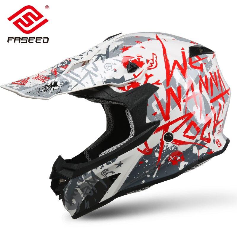 Italian brand FS 607 motorcycle helmet male road off road helmet full face helmet half full