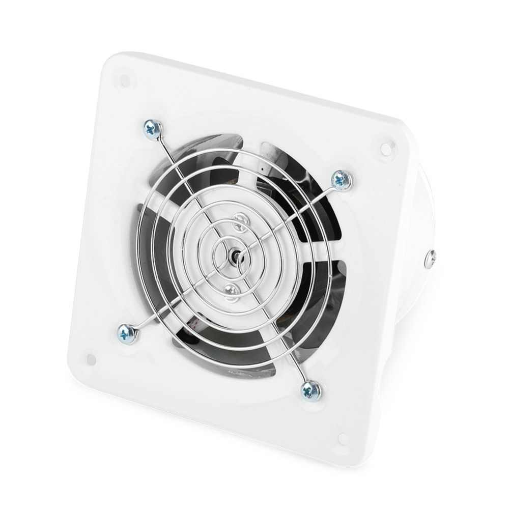 4 inch 25 W Wand Montiert Auspuff Fan Geräuscharm Hause Bad Küche Garage Air Vent Belüftung 220 V
