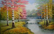 Ручная роспись Современная картина маслом на холсте пейзаж живопись