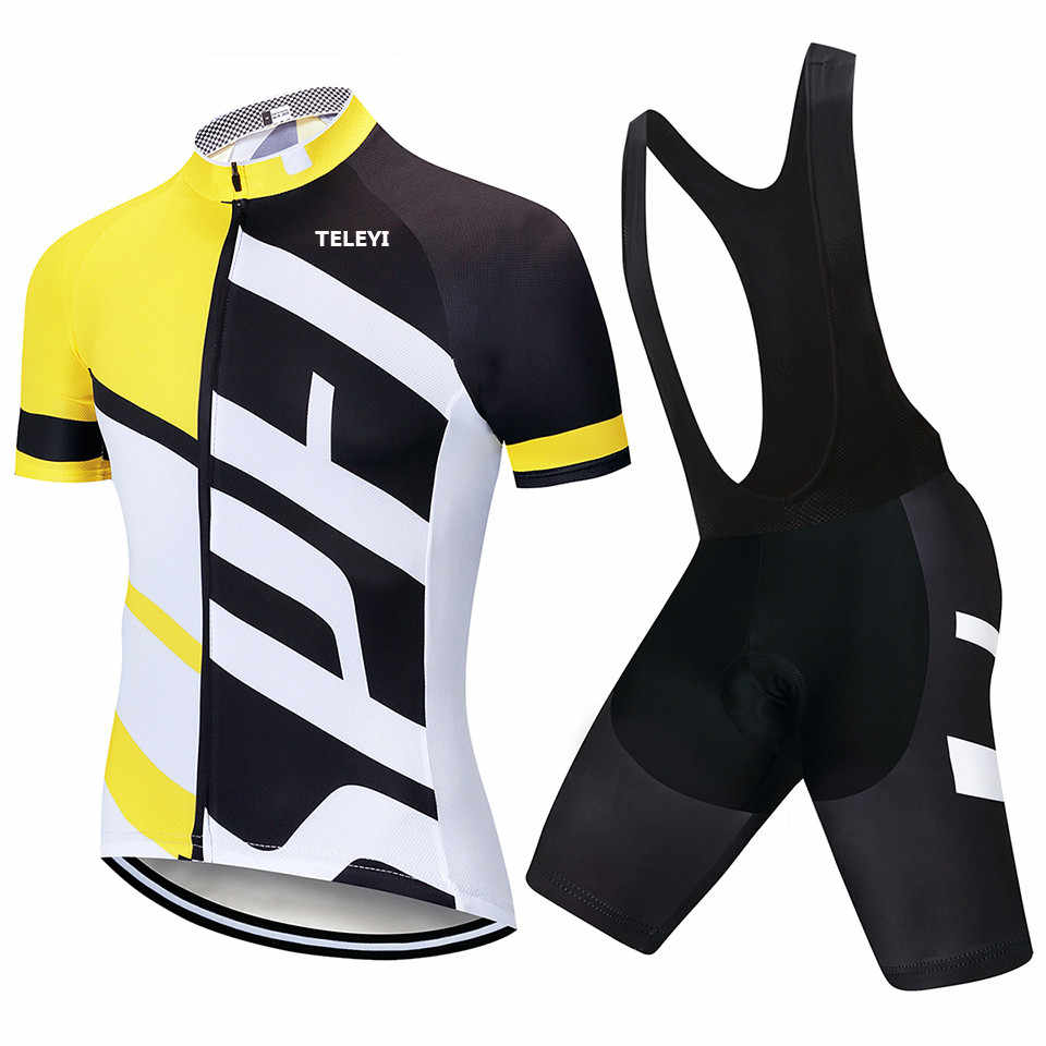 2018 TEAM SPECIALIZEDING Cycling Clothing Bike jersey Ropa Quick Dry Mens  Bicycle summer pro Cycling sets a5e5bfe88