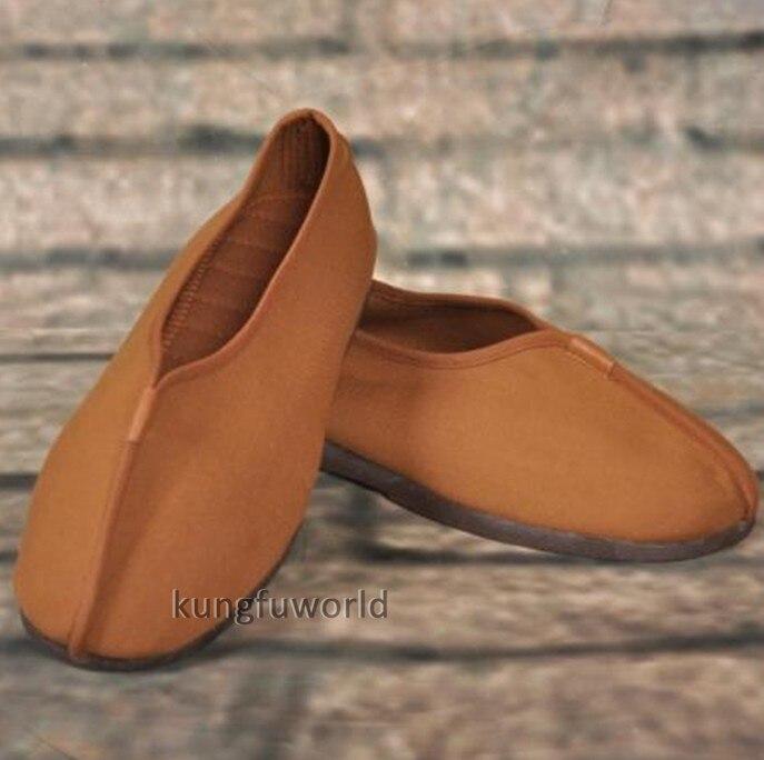 все цены на Authentic Old Style Shaolin Monk Kung fu Shoes Tai Chi Wing chun Martial arts Sneakers Karate Taekwondo Sports Footwear онлайн