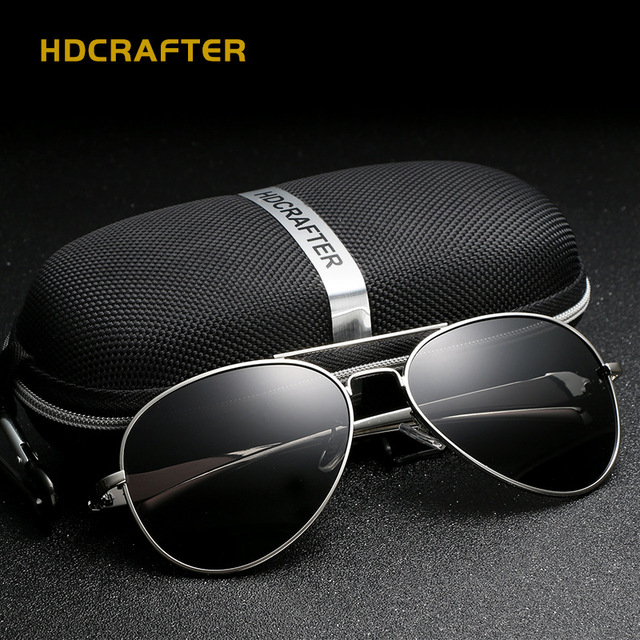 593717e403 HDCRAFTER New Leopard Head Coated Polarized Sunglasses Men Driving High  Quality Sunglasses gafas E912-3