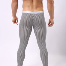 New warm brand name cotton thermal underwear thermo underwear man long john underpants S M L