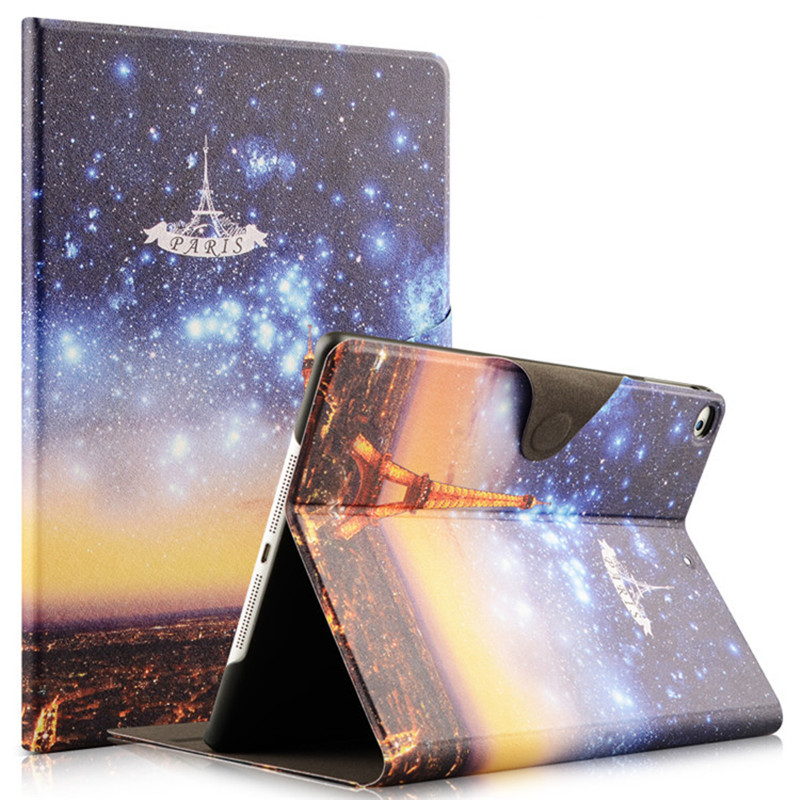 Buckle Case For ipad 9.7 2017 Luxury flip Case For Apple New iPad 2017 Release 9.7 inch cover With Auto Wake/Sleep Color Print winner single album our twenty for random cover release date 2017 08 08