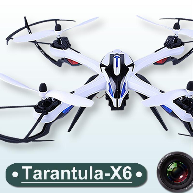 RC Drone with Camera Optional Tarantula X6 Wide-Angle 5MP HD 1080P 4CH RC Quadcopter RTF 2.4GHz 6-Axis Hyper IOC toys FSWB new version yizhan tarantula x6 1 4ch rc quadcopter mimi drone with hyper ioc bright led lights remote control helicopter toy