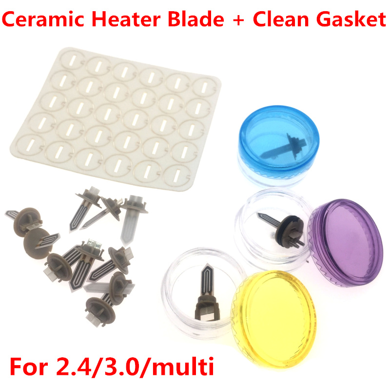 New Vape Vapor Accessories Replacement Ceramic Heater Blade Clean Gasket for iqos 2.4/2.4Plus /3.0/multiNew Vape Vapor Accessories Replacement Ceramic Heater Blade Clean Gasket for iqos 2.4/2.4Plus /3.0/multi