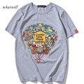 New Arrival 2017 T-shirts Men Casual Cute Print Tops All Match Basic tees Eminem Shirts Tops&Tees Plus Size T shirt