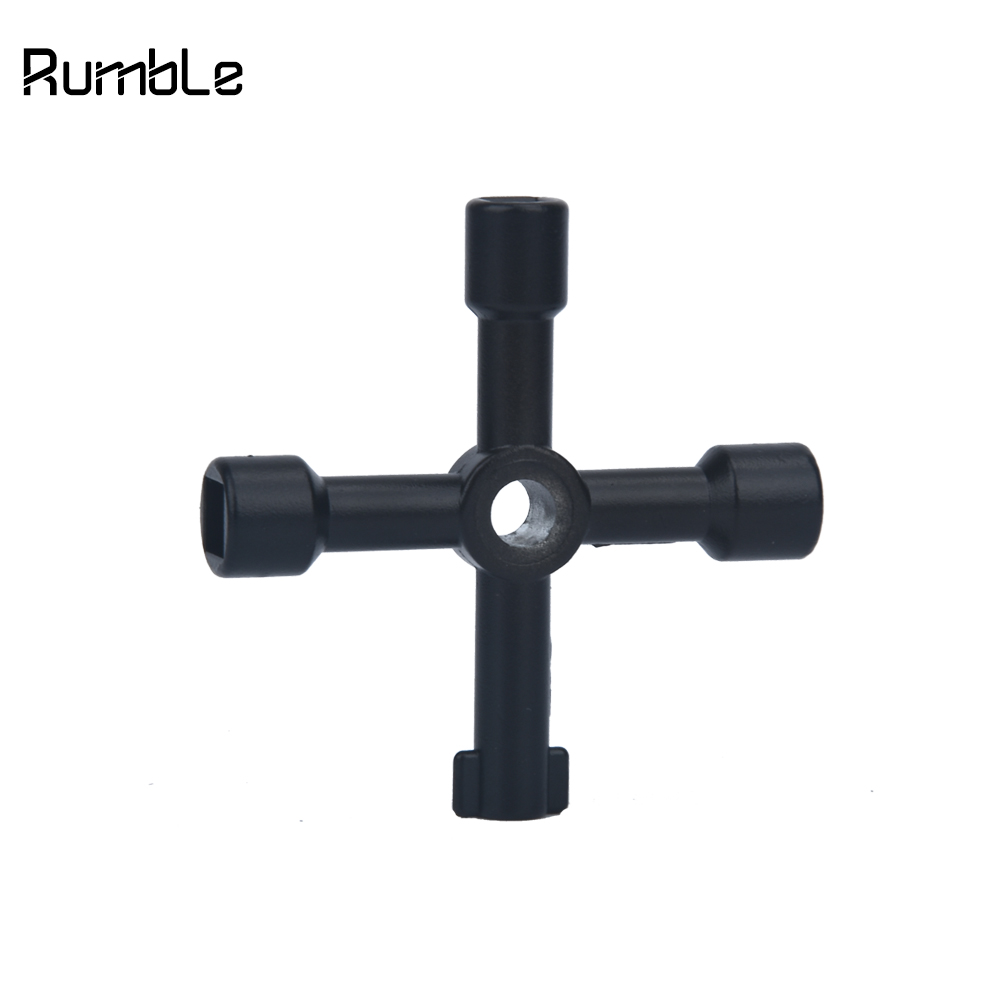 Universal Triangle Key Cross Key For Train Electrical Elevator Cabinets Valve