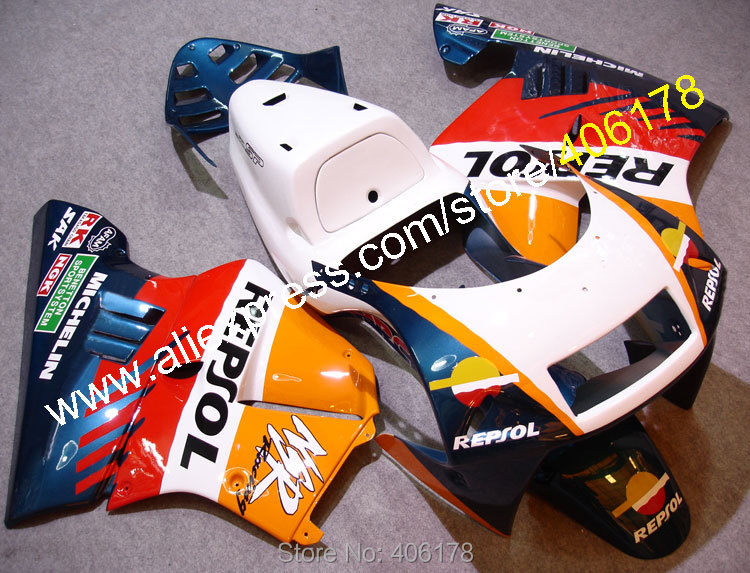 Hot Sales,For Honda NSR-250R NSR250R 90-93 NSR 250R MC21 1990-1993 Repsol Aftermaket fairings for sale (Injection molding)