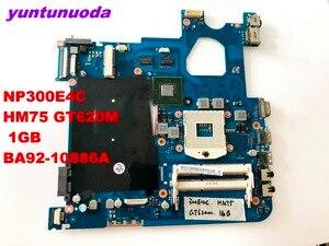 Оригинальная материнская плата для SAMSUNG NP300E4C, материнская плата для ноутбука NP300E4C HM75 GT620M, 1 ГБ, протестирована на BA92-10886A, бесплатная доставка