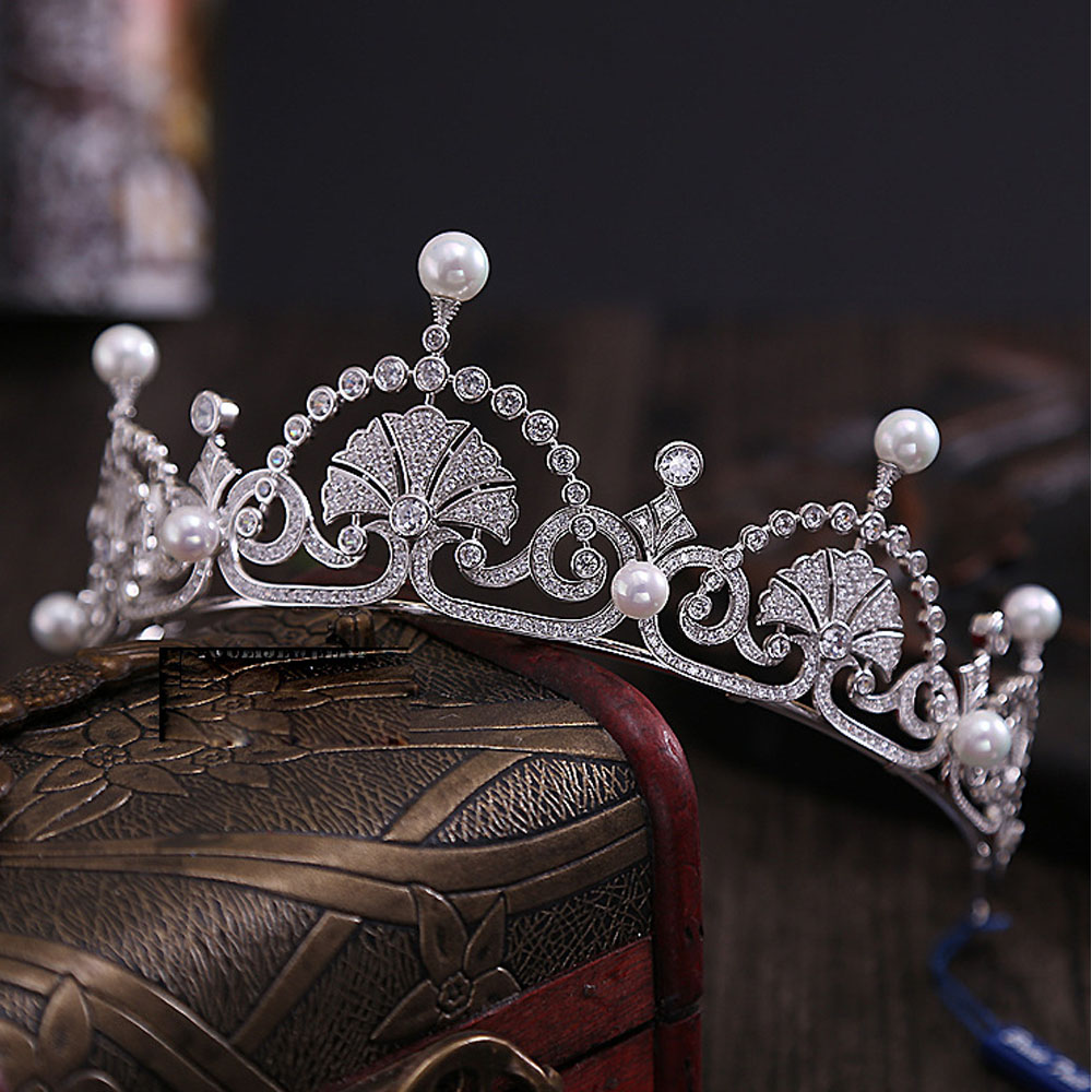 Aliexpress Buy 2017 Miss Univer Uk Royal Zircon Stones Crown