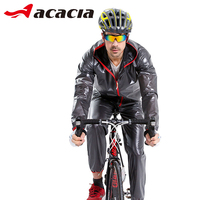 ACACIA Bicycle Safety Reflective Jersay Pants Ciclismo Bicycle Cycling Clothing Waterproof Raincoat Suits