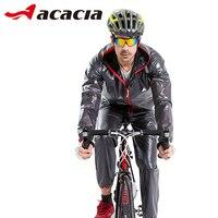 ACACIA Bicycle Safety Reflective Jersay Pants Ciclismo Bicycle Cycling Clothing Waterproof Raincoat Suits