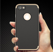 iPhone Pure Metal Cases For apple iPhone 7 6s plus Case Ultra Thin Scrub Luxury metal For iPhone 7 6 Case covers