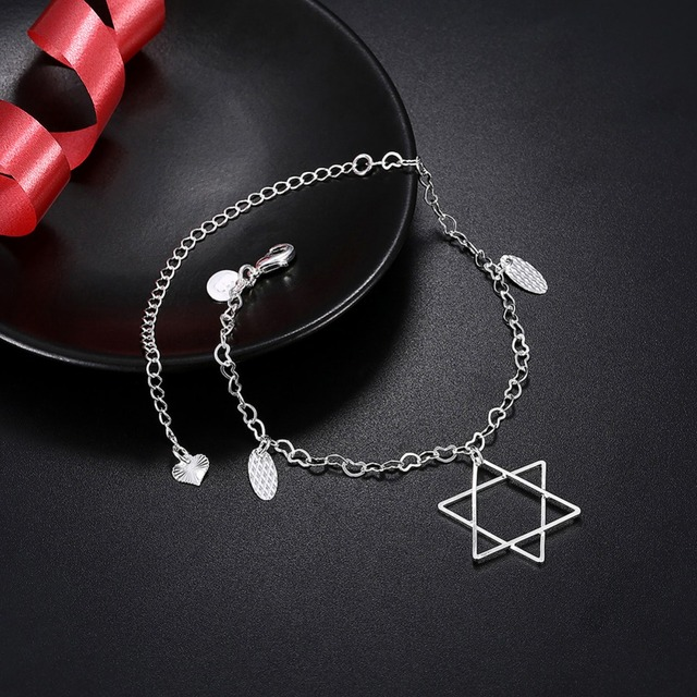Anklet with Star of David