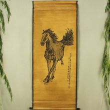 Antique collection Imitation ancient single Horse diagram