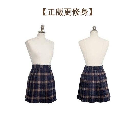 HTB1Ye.INFXXXXXzXXXXq6xXFXXXN - FREE SHIPPING Pleated skirt plaid bodice short skirt JKP093