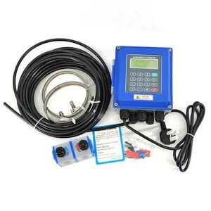 Image 5 - Ultrasonic flow meter TUF 2000B TS 2/TM 1 Transducer DN15 100mm/DN50 700mm liquid flowmeter wall mounted type ModBus Protocol