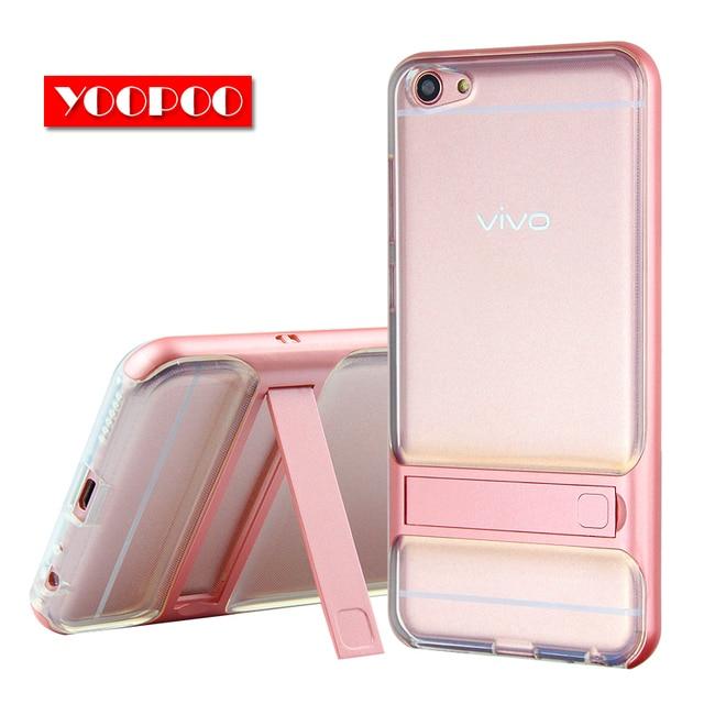 "Brand New 3D Kickstand Mobile Phone Case VIVO X7 Case 5.2"" Hybrid Cover TPU+PC Full Protective Silicone Coque VIVO X7 Plus 5.7"""