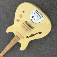 Custom electric guitar, all colors, logos and shapes can be customized, using your pictures to make your own guitar