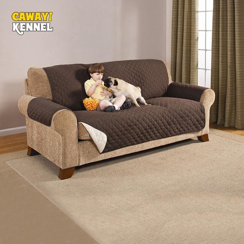 CAWAYI perrera poliéster Anti-Toma de mascota perro gato sofá cubre perro estera de cojín sofá silla funda sofá protector de D1400