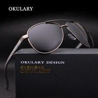 OKULARY Top Quality Men S Polarized Sunglasses Brand Designer Aluminum Magnesium Frame Men Glasses UV400 Fishing