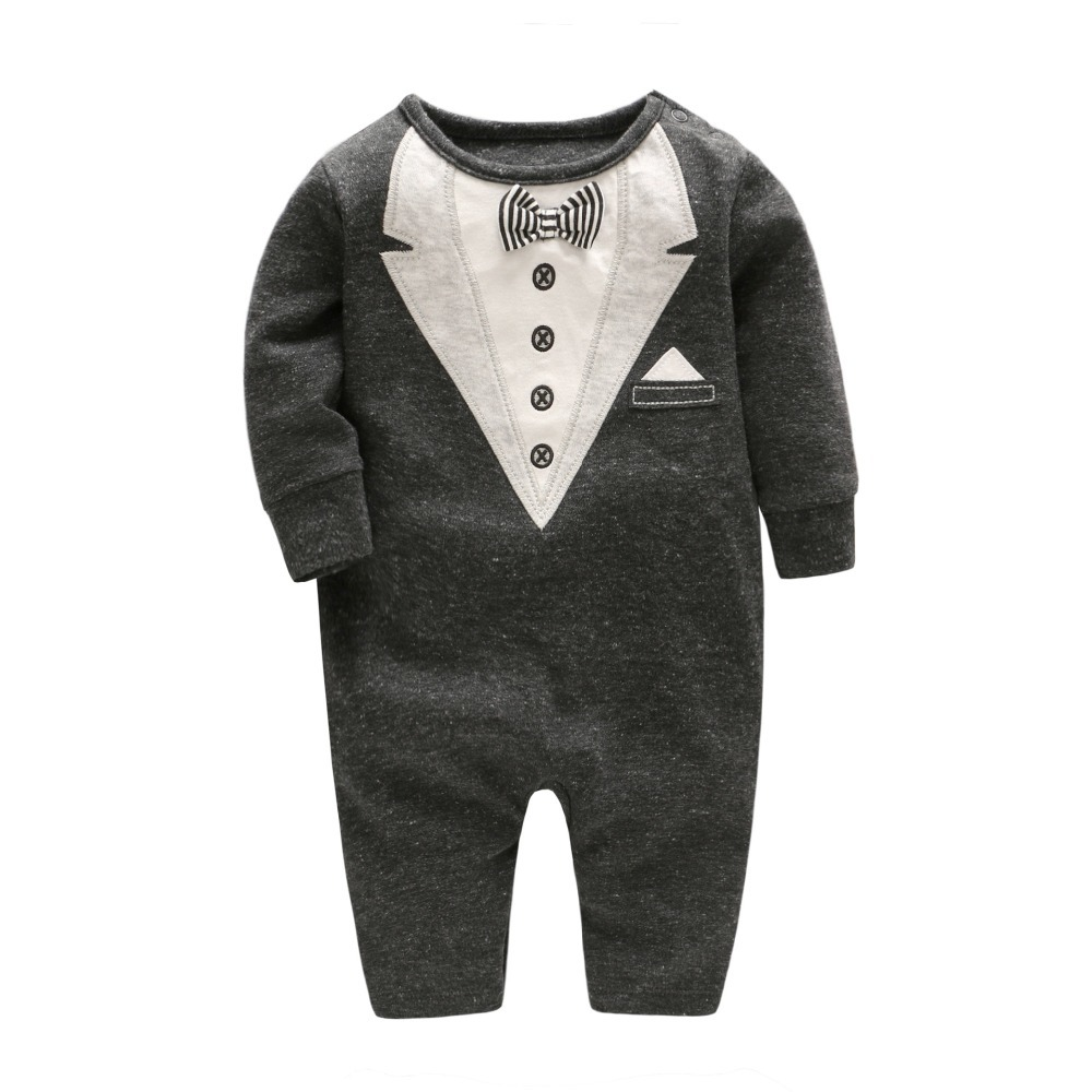 Vlinder 2017 newborn baby boy winter clothes 100% Cotton Long Sleeve Baby Rompers Soft Infant Baby girl Clothing Set Jumpsuits strip baby rompers long sleeve baby boy clothing jumpsuits children autumn clothing set newborn baby clothes cotton baby rompers