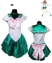 New Arrival Ladies Sexy Sailor Moon Costume Cartoon Movie Cosplay Girl Mercury Moon Mars Dress Wholesale Halloween Costumei