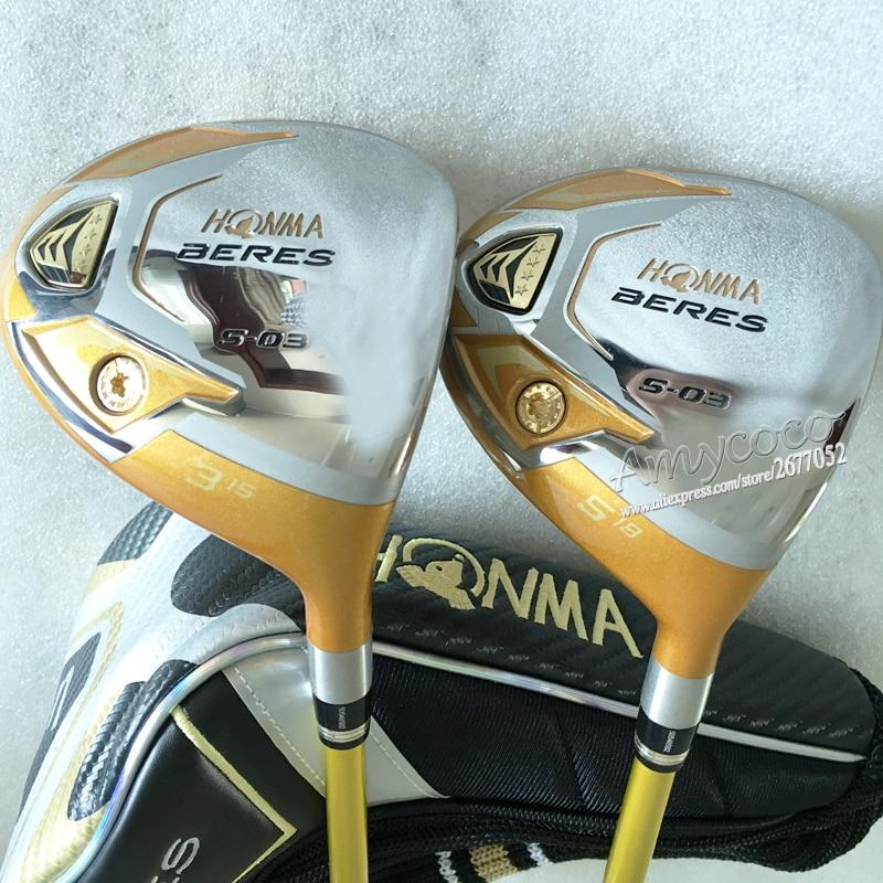 Cooyute Yeni Golf Klubları Honma S-03 4 ulduzlu klublar Golf - Qolf - Fotoqrafiya 3