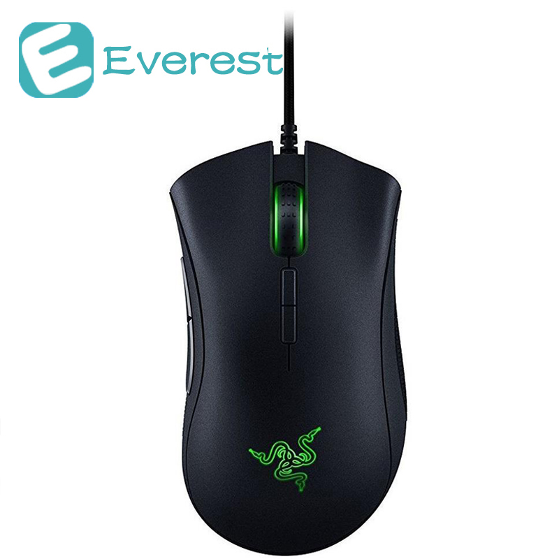 Razer DeathAdder Elite Wired Gaming Mouse CHS Packaging 16000 DPI pc gamer Mechanical Mouse for Laptop Notebook Computer Mouses