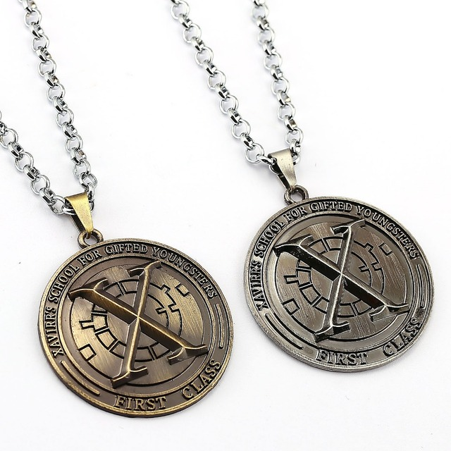 X-Men Choker Necklace X men Pendant Men Women Gift Movie Anime Jewelry Accessories