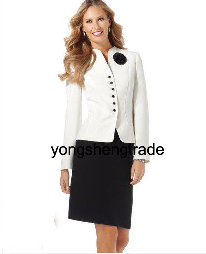 Brand Women 39 s Suit Custom Made Women Suits Jacket amp Skirt 456 in Skirt Suits from Women 39 s Clothing