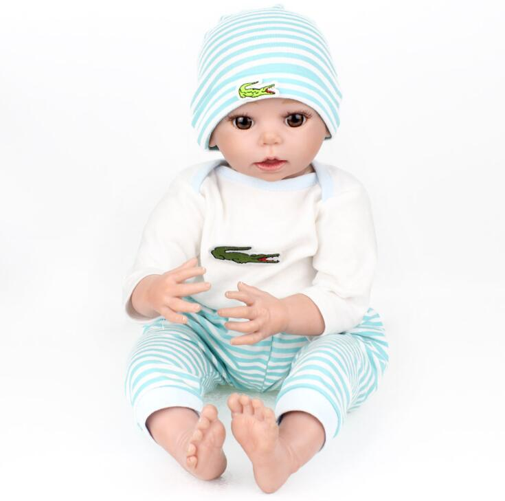 Foreign trade exports the original single baby doll reborn soft to accompany the baby toy growth partner every family сумка для одеяла hi every family