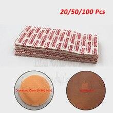 20 50 100 шт., водостойкая круглая клейкая паста для ран