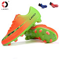2016 new Boy Kids Men Soccer Cleats Boots Turf Football Soccer Shoes Hard Court Outdoor Sneakers Trainers Adults Sport Shoes