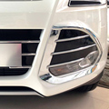 Envío de la Alta Calidad ABS Cromado Delantero Faros Antiniebla Ajuste de la cubierta Luz Antiniebla sombra Recorte Para Ford Kuga
