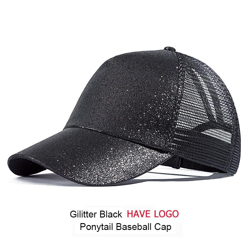 e932a406f9a Dropwow URDIAMOND 2018 Ponytail Baseball Cap Women Messy Bun ...