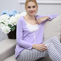 Summer Thin Woman Pregnancy Clothes Maternity Nursing Clothes Breastfeeding Women's Clothing Mother Home Clothes