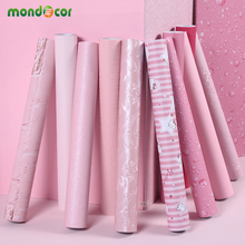 Девушки Розовый пилинг и палочка обои для спальни декор наклейки для стены в гостиной домашний декор виниловая контактная бумага для кухонного стола